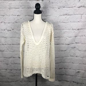 NWOT Hollister high Low Sweater SZ Large